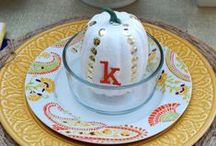 Holiday: Thanksgiving / Home Decor, DIY Projects and Recipes for Thanksgiving