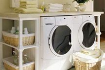 Clean Laundry / Organized laundry rooms / by Amber Johnson
