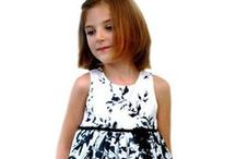Girls Fashion Trend - Black & White / Black and white trend clothing & accessories for girls 6M-12Y