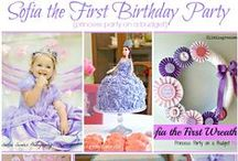 Party: Princess Party / DIY Projects, Party Decor, and Cake Inspiration for a Princess Party