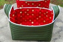 Sewing -- Baskets & Boxes