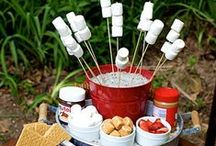 Party: Camping / Camping Birthday Party DIY Decor, Food, and Birthday Cakes