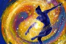 Cosmic Dancing in Omni-D / Our team loves to go Omni-(ALL)-Dimensional Travel Adventuring. We play in places like these...and if we haven't been there we might visit soon!