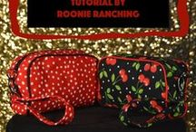 Sewing -- Zipper pouches & clutches