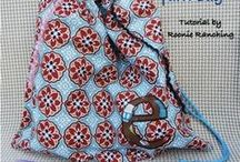 Sewing -- Drawstring pouches/bags
