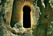 Portals to Who Knows Where / Enter-Through-to-Beyond