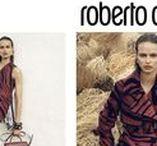 Roberto Cavalli Spring/Summer Advertising Campaign / An empowered, conscious and dynamic femininity.  Photographer : Zoe Ghertner  Model : Birgit Kos