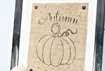 Autumn / Beautiful projects, home decor ideas and more to bring fall / autumn into your life.