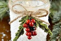 Christmas Decor and Crafts / Lots of great Christmas / Winter decor and crafts
