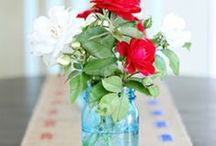 4th of July / Everything you need for 4th of July - crafts, decor, recipes and more. / by Domestically Speaking