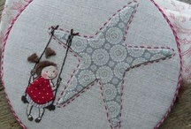 Needle,thread and fabric
