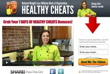 Healthy Cheats - Natural Weight Loss / HEALTHY CHEATS is your guide to natural weight loss, including the foundational concepts for nutrition and exercise, fat burning basics, metabolism and the building blocks of any food, so that you understand the key insights needed to bring about permanent weight loss: http://healthycheats.skinnychef.com / by Jennifer Iserloh - Skinny Chef