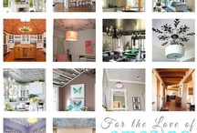 Ceilings / Love these creative, gorgeous ceiling ideas. Add lots of character to your ceilings.