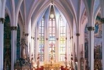 † ♥ ♫ Churches ♫ ♥ † / by Sheryll Lynette