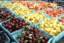 Cherries / All things cherries, an sweet anti-ox boost! / by Jennifer Iserloh - Skinny Chef