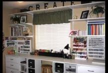 Craft Room Reno. / What we want built into our craft room.
