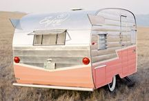 Our Kitschy Camper / Kel's and my ideal camper. Obviously it would be gypsy/boho/modern vintage in decor.