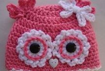 """Crocheted hat patterns / by Diane """"Momma D"""""""