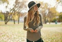 Autumn / Winter Fashion 2014 / Inspiration board for Autumn Fashion Outfits