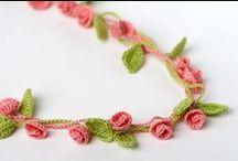 Crochet jewelry / Horgolt ékszerek