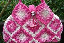 Crochet bags / Horgolt táskák