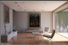 {Lighting Simulation} Renders / Everything about 3d simulation of natural and artificial light with Autodesk 3d Studio Max or other software. Simulation made using  parameters and material physically appropriate.