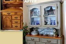 Furniture makeovers / upcycling furniture