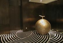 Modern Hotel Interiors / Modern and contemporary luxury and boutique hotel interiors.