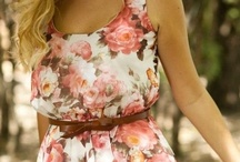 Spring/Summer Style Envy / What I wish my closet was full of! / by Caitlyn Miller