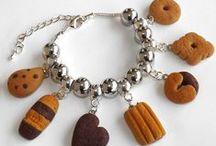 bracelets with pendants polymer clay / bracelets with pendants polymer clay handmade
