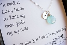 Wedding: Parents & Wedding Party Gifts / by Caitlyn Miller