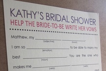 Wedding: Bridal Shower & Bachelorette Party Ideas / by Caitlyn Miller