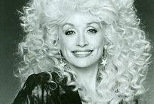Dolly Parton - Black & White / by Nancy Tracy