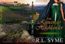 #HighlandEscape / A place for the picture entries in the #HighlandEscape virtual release party to celebrate the release of THE RUNAWAY HIGHLANDER by R.L. Syme.
