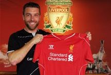 Rickie Lambert returns to Liverpool FC / A range of images as LFC complete the signing of England striker Rickie Lambert from Southampton / by Liverpool FC