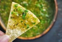 Dips, salsas and chips / by Rachel Cohen