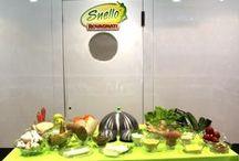 Snello Food Show / 6 foodblogger in gara, 6 sfide avvincenti, 1 solo vincitore! Una corsa contro il tempo con ingredienti limitati per preparare piatti sani, appetitosi e gustosi a base di salumi della linea Snello Gusto e Benessere.