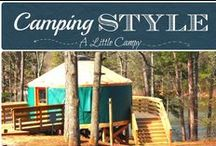 Camping Style- Find Yours / Camping style- from tents, RV's, camper trailers, yurts and more. Camping styles are as different as the campers themselves.  On this board, we pin various styles of camping. #camping