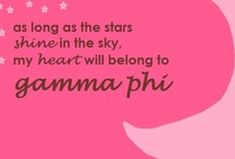 Gamma Phi Beta <3 / Love, Labor, Learning and Loyalty. ГФВ Love Forever <3 / by Stephenie Hou