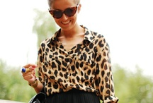 animal print trend / by Florencia Prats