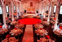 Pink & Red Wedding Reception Lighting / by Nigerian Wedding