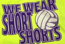 "Volleyball=Life / ""Our game is tighter than our spandex."" / by Ashlee Williams"