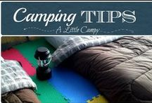 Best Camping Tips EVER / Best camping tips on the web. As campers, we are always looking for new and inventive solutions for camping. Basically, we want to know how to save time, space and money on camping gear. Our pins will help you with all of these and more. #camping #tips