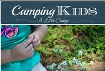 Camping Kids / Camping and kids go together like peanut butter and jelly.  We love camping with our kids and encouraging other families to spend time together in the great outdoors. On this board, we pin tips for camping with kids, fun activities and more. #kids #camping