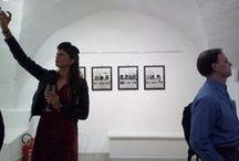 """VERONA -  Art town- places and people / """"Siamo noi, con la facoltà di interpretazione propria della mente umana, che vediamo l'arte."""" Man Ray"""
