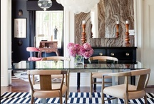 Interior Design - Dining Rooms You Want to Party In / This board is all about my favorite dining rooms that make me want to throw a dinner party...although I always want to throw a dinner party. ;)