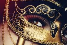 Les Masques for a Ball / And so they dance, with ghosts of faces and of truth.