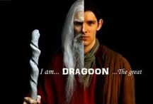 """Dragoon!.... The Great / """"Merlin...I want to say something to you I never said before... Thank you"""""""