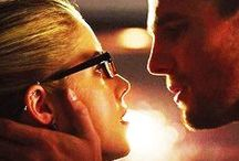 """Arrow of Starling City ↑ /  """"Don't ask me to say I don't love you""""  #Olicity"""