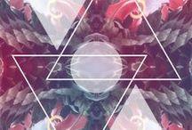 SHAPES, SYMBOLS & MANDALA / Circles, Triangles, Hands, Eyes, Mandala